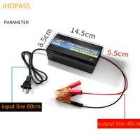 12V smart LED light lead acid battery charger for 20ah 100ah charger input voltage 220V output voltage 13.8v 15v