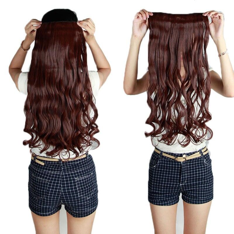 Накладные волосы на заколках из Китая