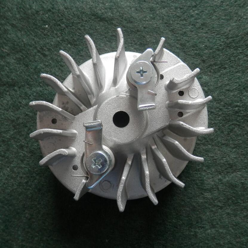 P350 IGNITION FLYWHEEL FITS PARTNER 350 351 370 371 390 420 440 PA350 47CC CHAINSAW MAGNETIC FLY WHEEL CHAIN SAW PARTS 6848 tool parts oil pump fits for part 350 351 352 370 371 390 391 chainsaw