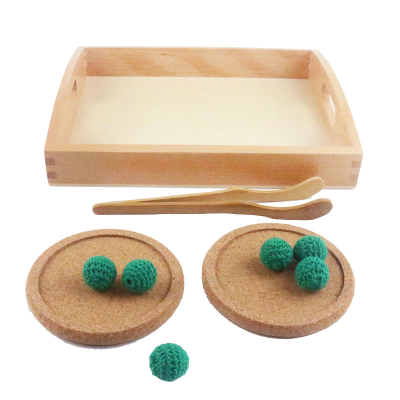 Home Impartial Wooden Montessori Practical Life Montessori Clip The Ball Educational Early Learning Toys Juguetes Brinquedos Mh1864h