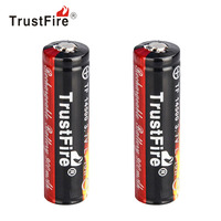 2pcs TrustFire 900mAh 3 7V 14500 Li Ion Battery High Capacity Rechargeable Lithium Battery For LED