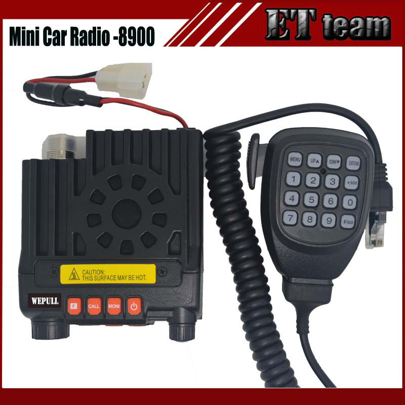 bilder für New two way Mini auto mobile radio mini-8900 cb radio transceiver dual band136-174 & 400-480 MHz zwei-ZWEI-WEGE-FUNKGERÄT walkie talkie 8900