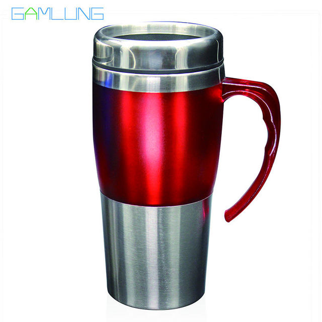 Gamlung Brand Stainless Steel Coffee Mug High Quality 16oz Travel Tea Cup With Lid 2017  sc 1 st  AliExpress.com & Gamlung Brand Stainless Steel Coffee Mug High Quality 16oz Travel ...