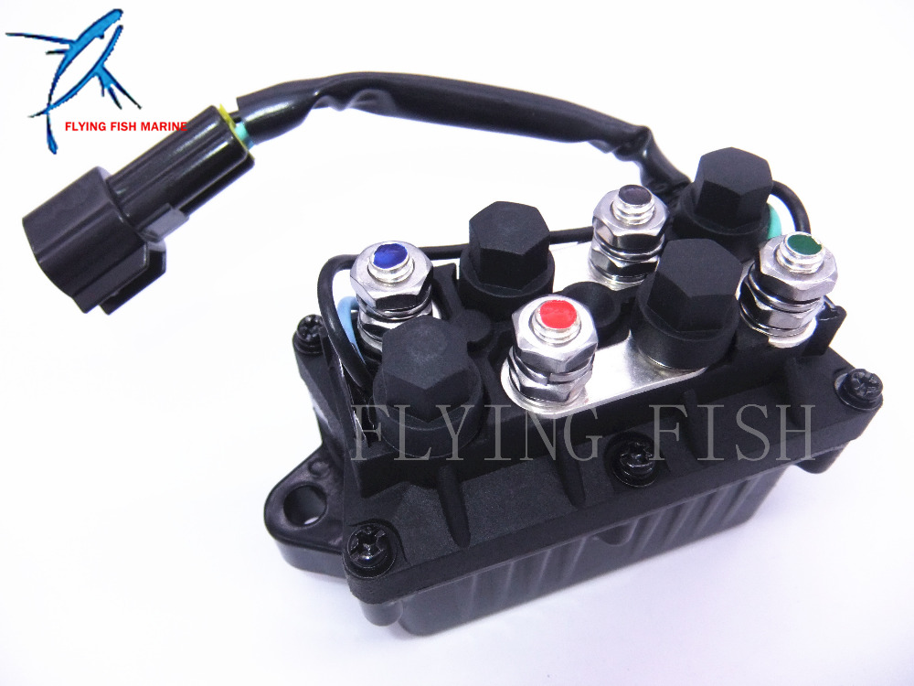 61A 81950 00 00 Outboard Engine Relay Assy for Yamaha 25hp 250hp ET PPT Boat Motors , 3 Pins , Free Shipping