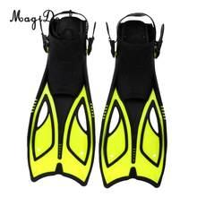 Équipement de plongée sous-marine professionnel, palmes de natation réglables 3-6 pour Sports d'eau, équipement de plongée libre