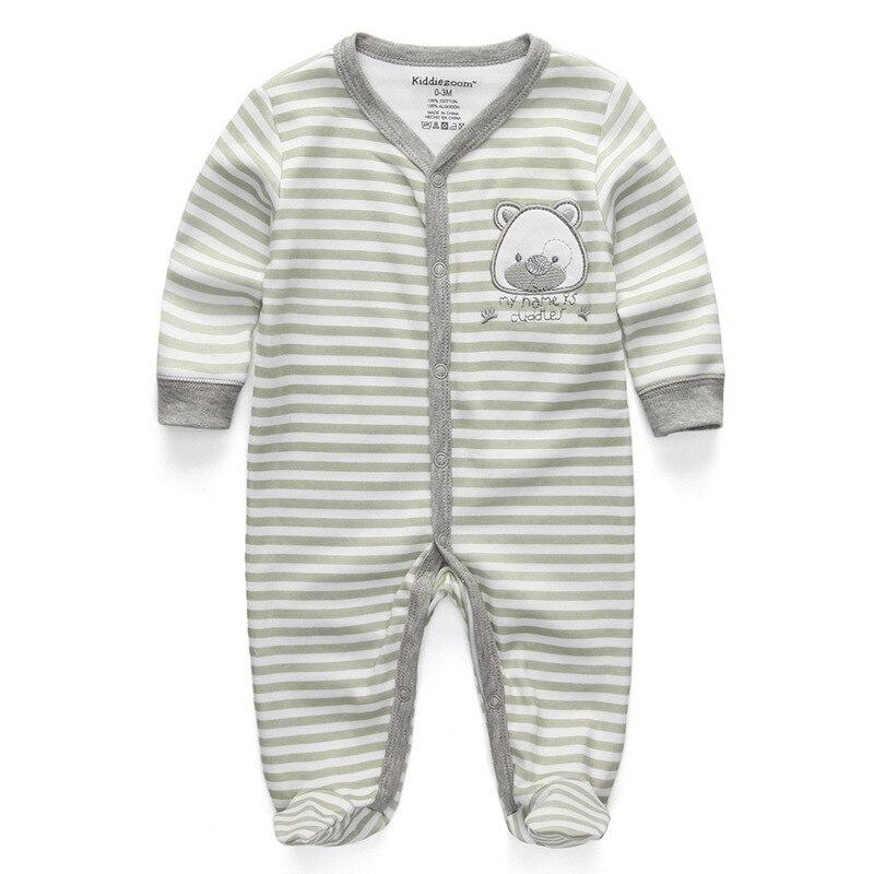 Для маленьких девочек сна; одежда для сна с мультяшным рисунком для малышей Детские пижамы хлопок Длинные рукава Детские пижамы с надписью «i love daddy» детские комбинезоны с рисунками - Цвет: cuddles2