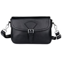 New Arrivals Cowhide Women Cross-body Bags Ladies Shoulder Bag Famous Brand Small Square Bags Genuine Leather Messenger Bag 2019