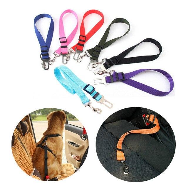 Pet Seat Belt >> Aliexpress Com Buy Safe Driving Pet Car Seat Belt Nylon Ajustable Cat Dog Harness Collar Leash Pet Seat Belt Travel Clip For Medium Small Dog From