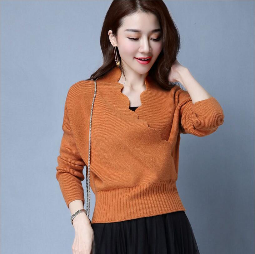 2019 Frauen Pullover Winter Pullover Stricken Muster Pullover Lose Wolle Warme Pullover Frauen Tops Heller Glanz