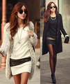 Women Sexy Casual Mini Dress 2016 New Summer Long Sleeve O-neck Black Tunics Hot Sale Modest&Fashion White Vestido Femme AX175