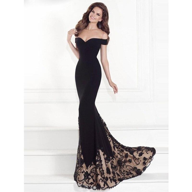 YSMARKET Robe De Soiree Longue Mermaid Burgundry Long Lace Dress Elegant Vestido De Festa Long Prom Desses With Belt Y204-1