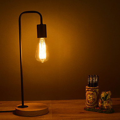 60W Simple Table Lamps In Modern/Comtemporary Wood Edison Table Lamp,Abajour  Luminaria Lamparas De Mesa In Table Lamps From Lights U0026 Lighting On ...