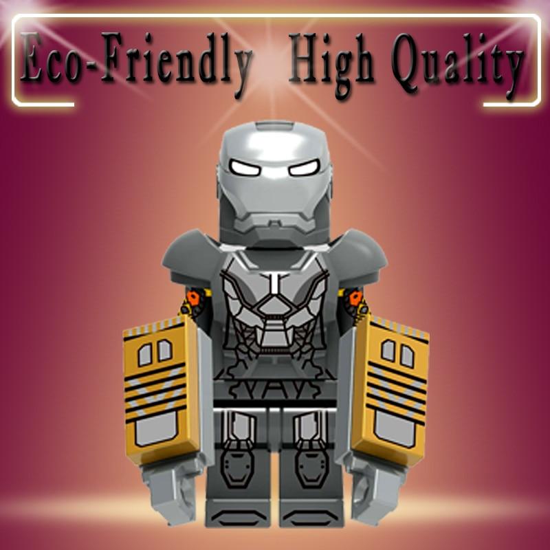 Building Blocks Super Heroes Bricks Iron Man Mark 25 Tony Stark Mark 29 Mark 30 Figures Toys Gift For Children XH1221