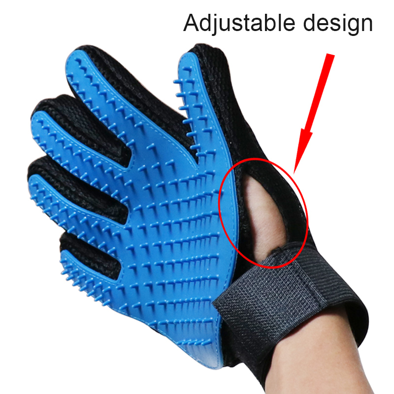 Deshedding Brush Glove For Animal Cat Supplies Pet Gloves Hair Comb Five Finger Glove For Cat Grooming Supplies Cat Pet  42 A1 #2