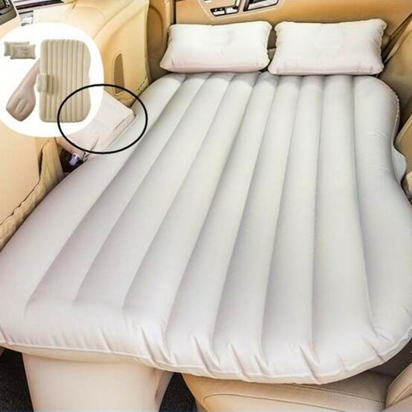 Gonflablecar Back Seat Cover Air Matras Reizen Bed Opblaasbare Matras Matelas Voiture Auto Bed Lit Voiture Air Bed