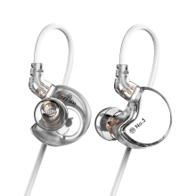 TFZ NO.3 In-ear Earphones Dynamic Driver Super Bass Noise Cancelling Headphones Dj Stereo Headset 0.78mm 2Pin Detachable Cable tfz secret garden hifi hd dynamic driver in ear earphone with 2pin 0 78mm detachable iem rich bass quality music earphones