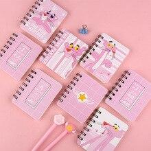 16 стилей спираль книга катушки тетрадь Kawaii выстроились пустая сетка бумага дневник планировщик для школы канцелярские принадлежности подарок