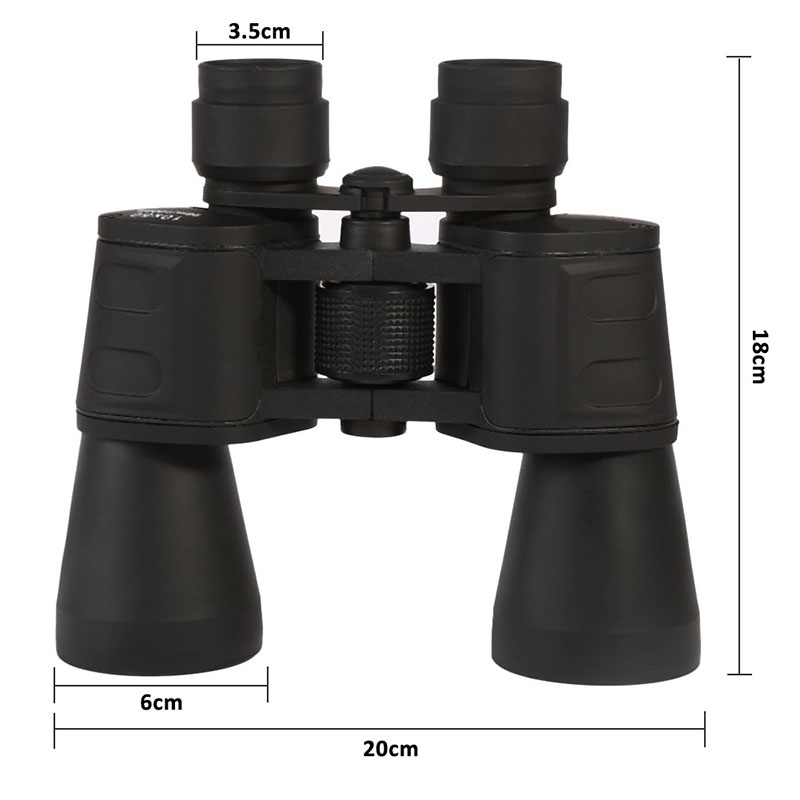 Central Adjustment Zoom Focus Portable Binoculars Multi-Coated 10x50 Night Vision Membrane Blue Telescope Hunting  цены