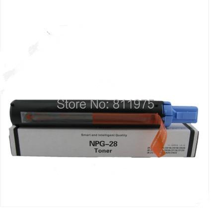 compatible NPG-28 GPR-18 C-EXV-14 NPG28 toner cartridge FOR CANON IR2016 IR2020 IR2018 IR2022 IR2120 IR2116 IR2025 IR2030 Copier 100% new original copier toner compatible for canon npg 28 ir2016 2018 2318 2320 2020 2420
