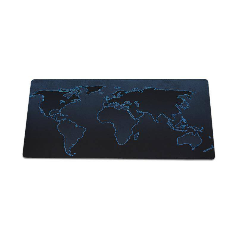 Yinuoda hot sale World map Laptop Computer Mousepad Size for 30x60cm and 30x60cm Gaming Mousepads
