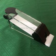 TA-282 качество казино высокое качество дилерская обувь в черном и прозрачном для 8 палуб