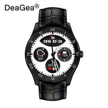 DeaGea Q5 smart watch AMOLED Round Touch Screen support multilanguages SIM Card Connectify Fashion smartphone For Android IOS