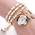 Pulseras de reloj de cuarzo de las mujeres famosa marca de relojes 2016 reloj casual señoras reloj de regalo de lujo de alta calidad 2016 susenstone