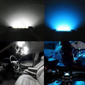Image 2 - WLJH 17x ホワイトエラーフリー車マップミラー電球照明パッケージインテリア Led Bmw E46 1999 2006 セダンワゴンクーペ Canbus