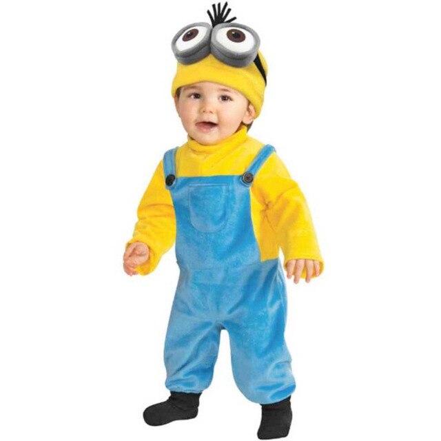 Minion Toddler Kids Costume Despicable Me 3 The Minions Bob Romper Costume Baby Boysu0027 Jumpsuit  sc 1 st  AliExpress.com & Minion Toddler Kids Costume Despicable Me 3 The Minions Bob Romper ...
