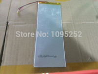 Free Shipping 3 7V Lithium Polymer Batteries 4500mah Universal Battery Brand Tablet PC 3 0 66