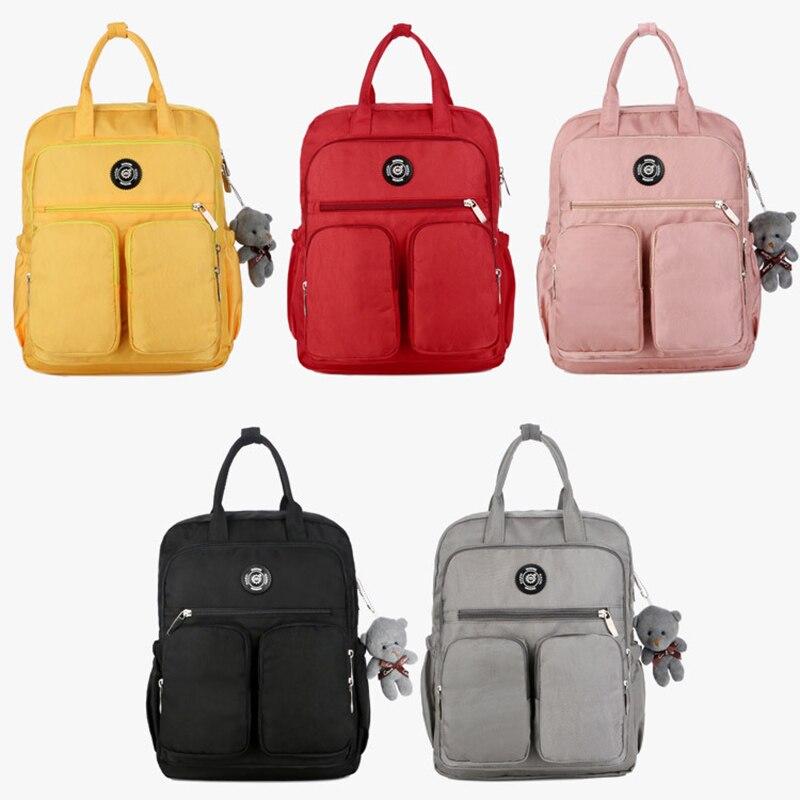 Women Backpack Multi-pocket Large Capacity Waterproof for Outdoor Travel School MUG88