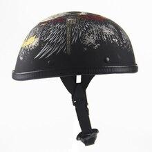 Harley capacete capacete EE Japão personalidade colher meia verão metade cap retro meia filhos da anarquia.
