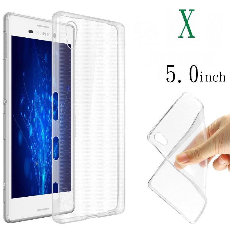 Для Sony Xperia X случае Liquid Crystal Clear ТПУ Тонкий чехол прозрачный тонкой кожи, чехол для Sony Xperia X F5122 f5121 случае Сумки