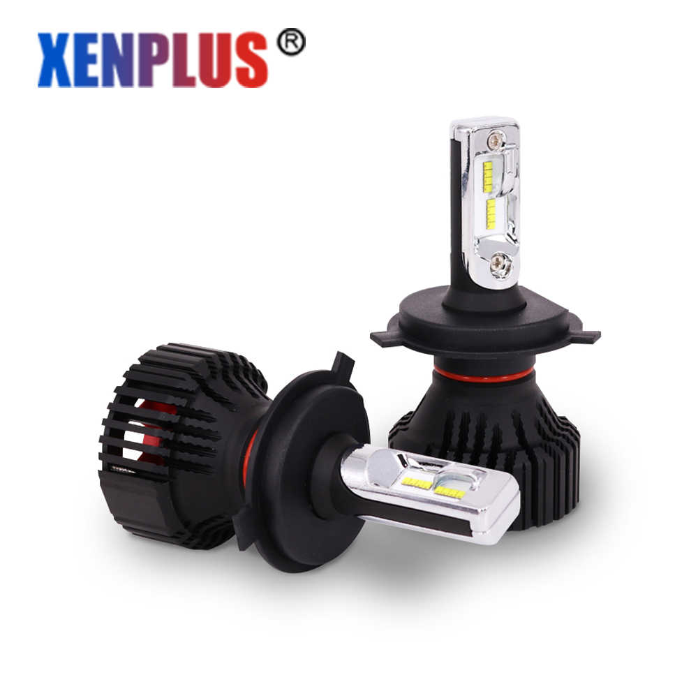 Xenplus 2PCS H7 Led H4 Car light H8/H11 9004 9007 9005 9006 HB3 HB4 H13 Lumileds ZES Chip headlight Bulb 12V 8000lm fog lamp