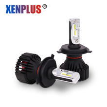 Xenplus 2PCS H7 Led H4 Car light H8/H11 9004 9007 9005 9006 HB3 HB4 H13 Lumileds ZES Chip headlight Bulb 12V 8000lm fog lamp(China)