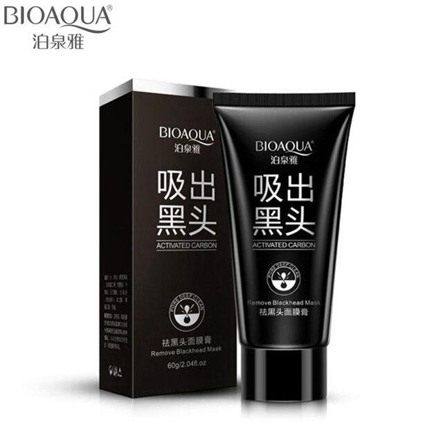 Bioaqua бренд Уход за лицом всасывания черный маска для лица Нос Черноголовых Remover пилинг шелушиться черной головой лечения акне 60 г