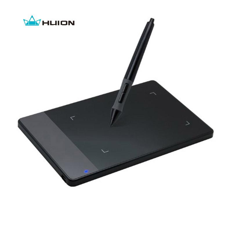 Prix pour D'origine Huion 420 Pouces Chiffres al Comprimés Mini USB Signature Stylo Tablette Graphique Dessin Tablet OSU Game Tablet