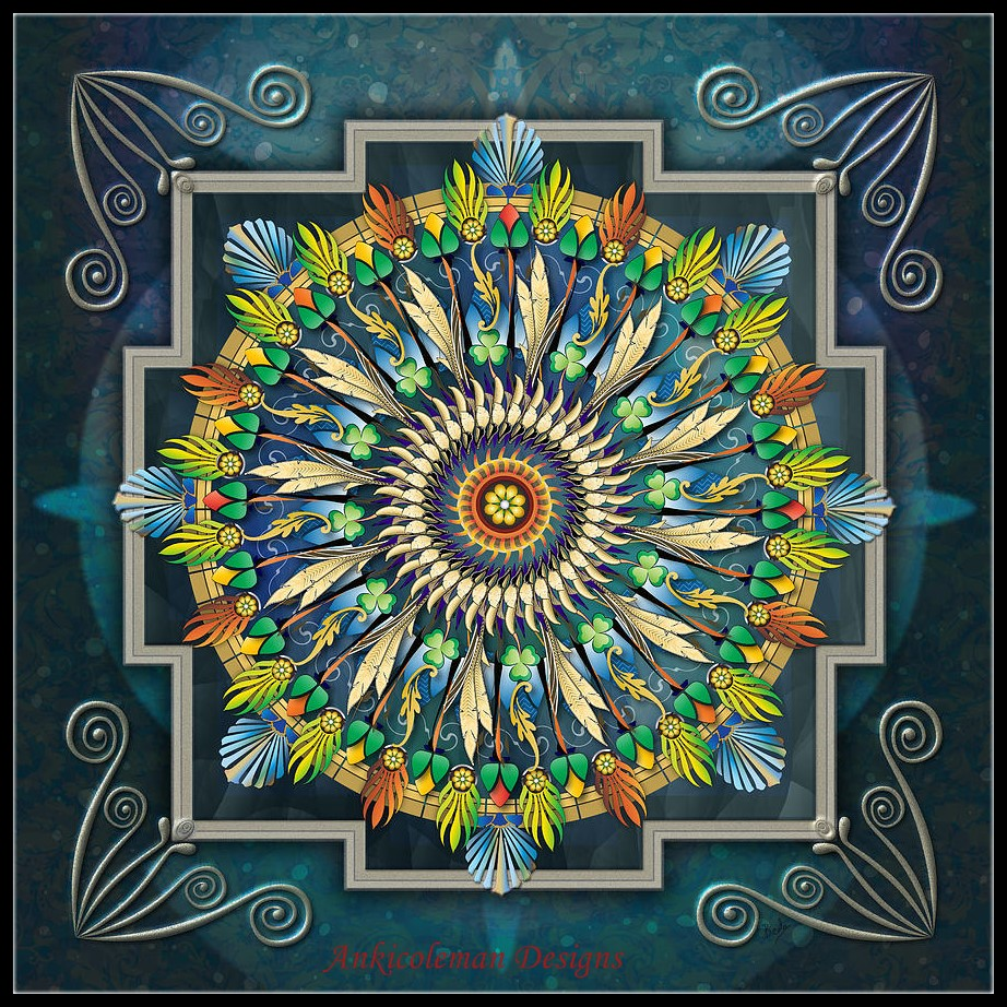 Embroidery Counted Cross Stitch Kits Needlework - Crafts 14 ct DMC DIY Arts Handmade Decor - Modern Mandalas