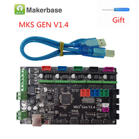 MKS Gen V1.4 integrated motherboard 4 layers PCB control card compatible Ramps 1.4 Mega2560 support TMC2208 2100 DRV8825 LV8729
