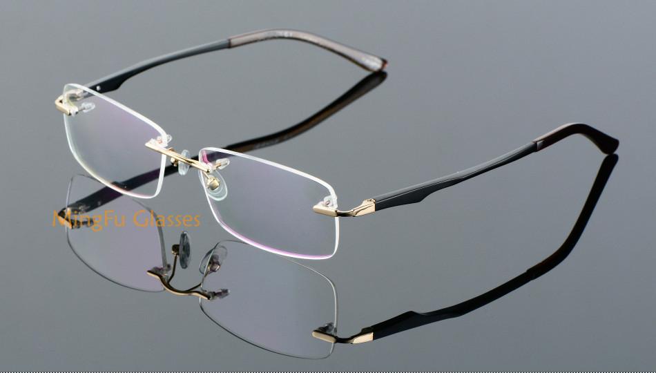 edc5a0dd1b Full Rim Aluminium Magnesium Eyeglasses Optical Frame Reading Myopia  Glasses Men Prescription Eyewear Sports Big Spectacles 2623USD 21.95 piece