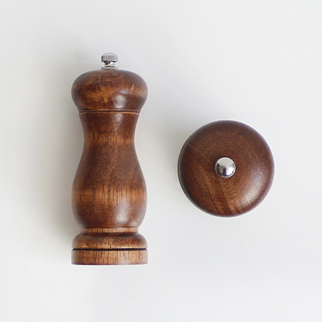2 pieces 5 or 8 inch spice pepper mill grinder