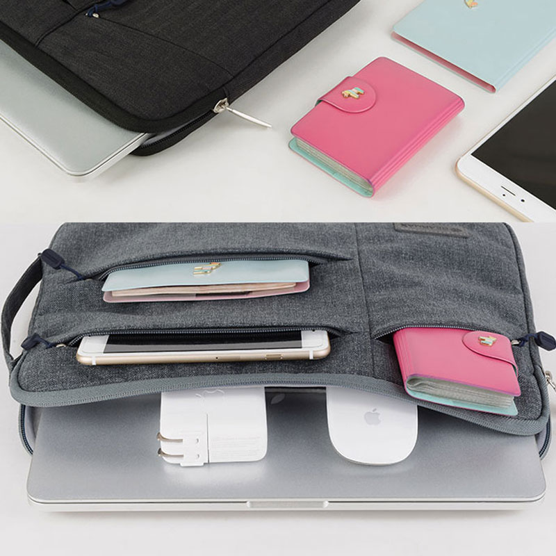 2019 Newest Laptop Bag 11 12 13 14 15 for Dell Water resistance Notebook Bag for iPad Pro 12 Computer Case for Xiaomi Air 13 in Laptop Bags Cases from Computer Office