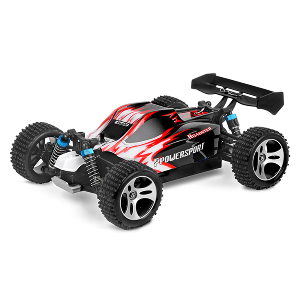 Wltoys A959 Remote Control RC Car Model Scale 1:18 New Shockproof Rubber wheels Buggy Highspeed Off-Road Kid Toy Christmas Gift wltoys a202 1 24 electric 4wd off road buggy