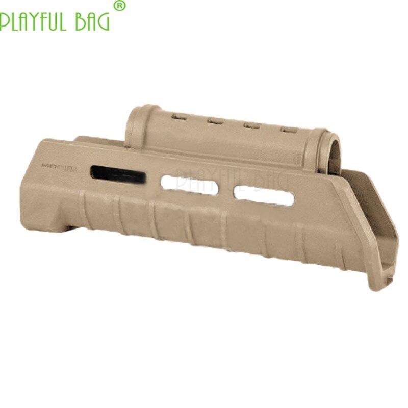 Activité de plein air CS jouet gel eau balle pistolet MOE AKM Nylon gainage AK47/AK74 série poisson os 7 pouces plat 12 pouces OJ07