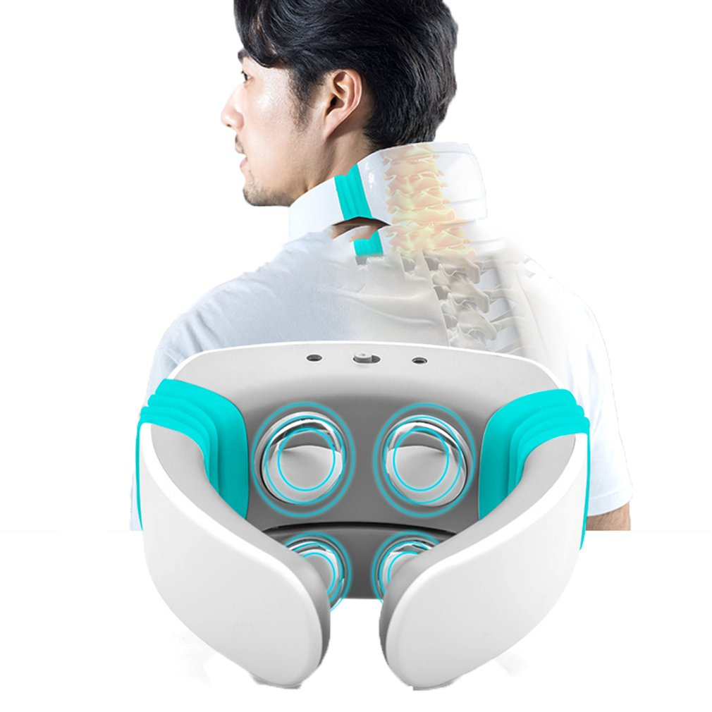Intelligent Cervical Spine Therapy Instrument Pulsed Cervical Spine Therapy Device Wireless Massage Therapy DeviceIntelligent Cervical Spine Therapy Instrument Pulsed Cervical Spine Therapy Device Wireless Massage Therapy Device