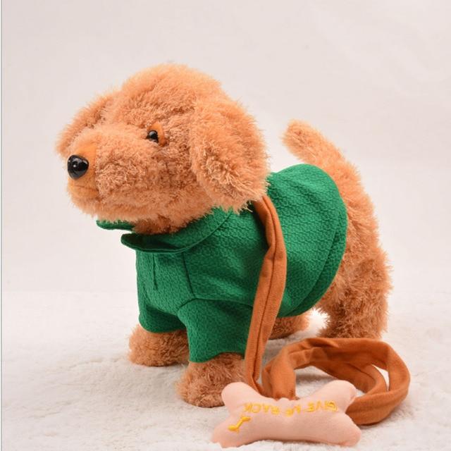 Free Shipping Soft Plush Stuffed Electrical Moving Talking Dog Toy