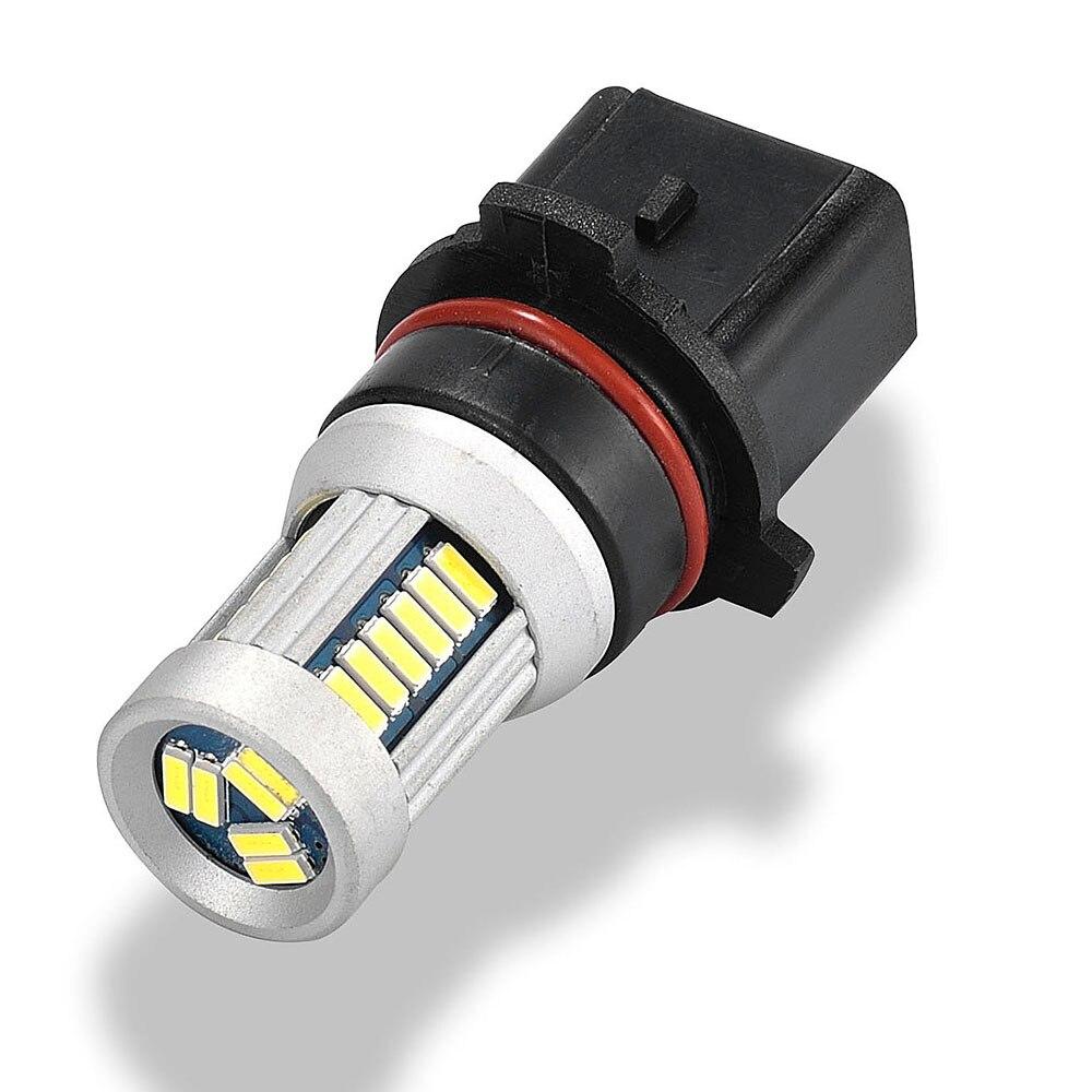 JSTOP yüksek kaliteli PSX26W Sis Farları led lamba canbus 6000 k - Araba Farları - Fotoğraf 3