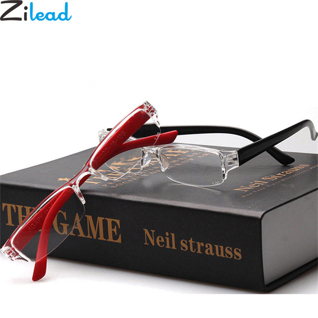 Zilead Ultralight Resin Reading Glasses Eyebrows Presbyopia Glasses Anti-fatigue Clear Lense For Men Women Eyewear 1
