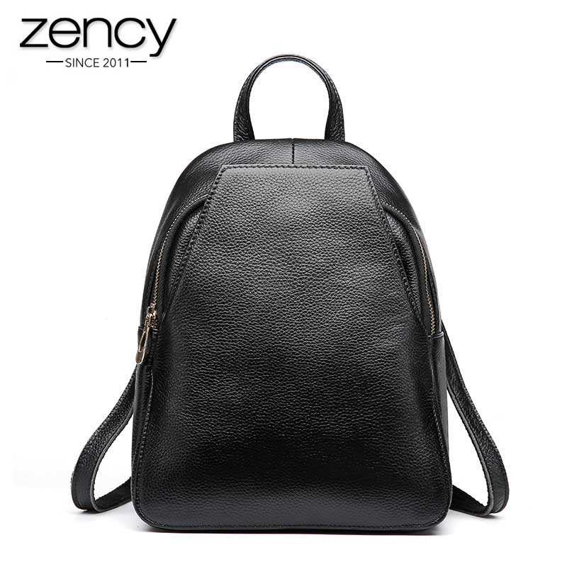 New Arrival Spring women natural leather backpack Hot style cool shoulder bags female purses simple casual multi use travel pack 2017 new arrival leather backpack casual bags