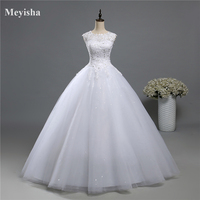 9036 Ball Gown Real Images Vestido De Novia Tulle Wedding Dress 2016 Bridal Dresses Robe De